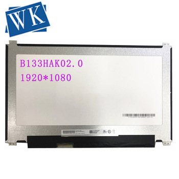 B133HAK02.0 13.3''FHD IPS LCD Touch Screen Panel 1920*1080 EDP 40 Pins for DELL 0D2TNH