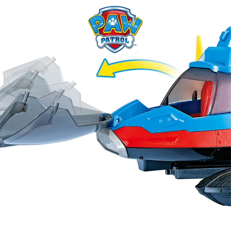 Image 3 - Paw Patrol Dog Toy set Toys Air patrol Aircraft Toy Pirate Ship Robot Dog Music Action Figures Toy for Children Birthday GiftAction & Toy Figures   -