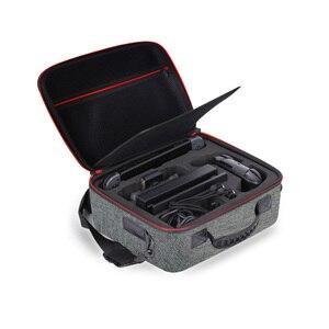 Image 5 - Чехол для путешествий, Жесткий Чехол, сумка для хранения для консоли Nintendo Switch и аксессуаров с 21 игровым картриджем