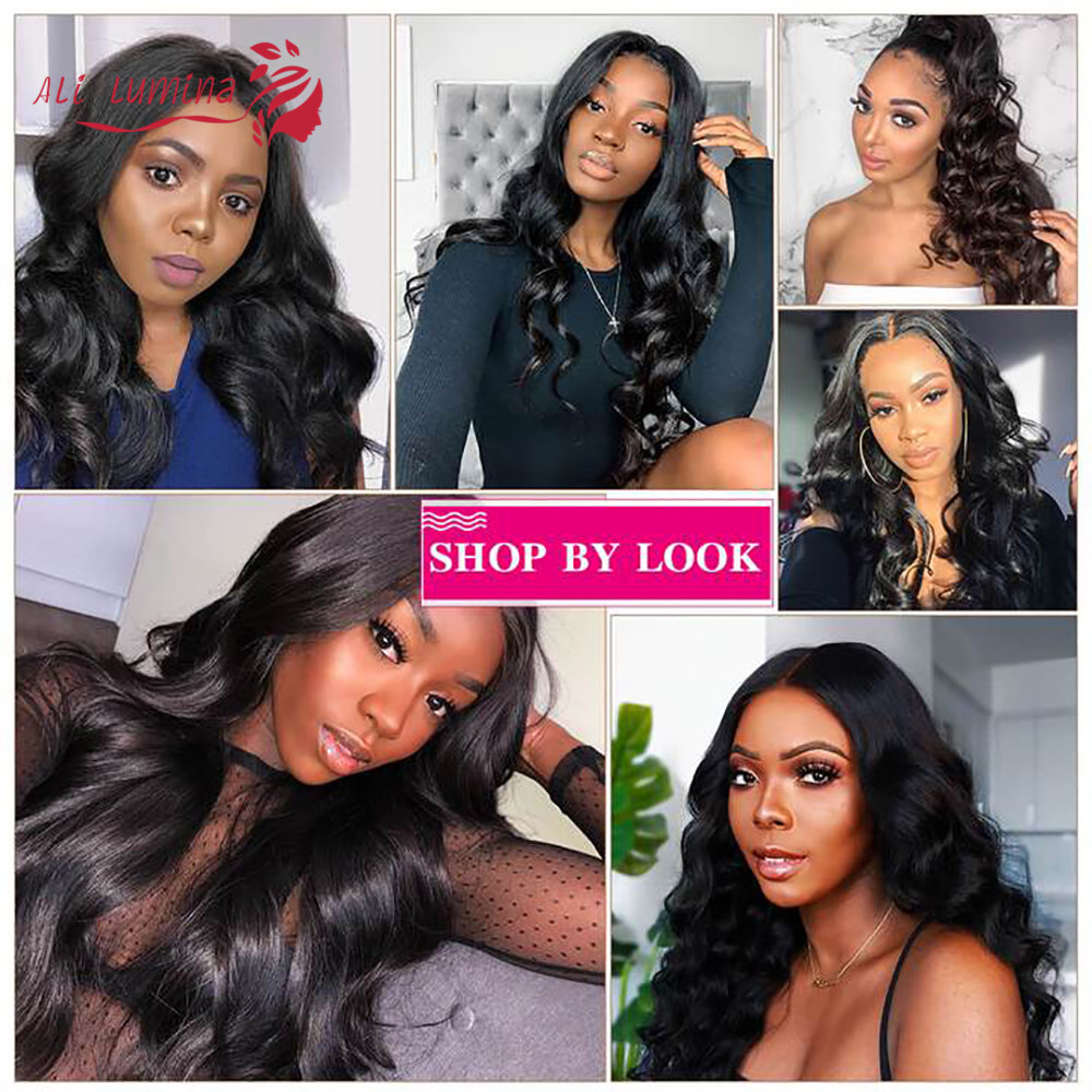 13x4 Lace Front  Wigs  Body Wave Lace Wigs 4x4 2X6 Lace Closure Wigs Pre Plucked With Baby Hair 6