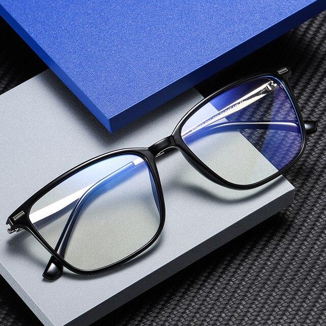 כחול אור חסימת משקפיים ברור מחשב משחקי עבודה אנטי כחול אור משקפיים נשים גברים משקפיים