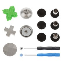 11P Replacement Swap Thumb Grips Analog Stick D-Pad & Bumper Trigger Button For XBOX ONE Elite PS4 Switch Pro Controller Gamepad