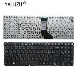 YALUZU rosyjska klawiatura do laptopa Acer Aspire F5-571 F5-571G F5-572 F5-572G F5-573 F5-573G RU czarny