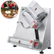 Durable Elektrische Ausrollmaschine Schnelle Kühlung Beständig Gegen Hohe Temperatur edelstahl Pizza Teig Roller Querschneider 110V