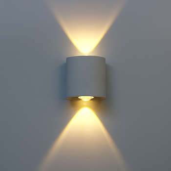Led Wall Lamp Aluminum Outdoor IP65 Waterproof Up Down Wall Light For Home Stair Bedroom Bedside Bathroom Corridor Lighting RF18