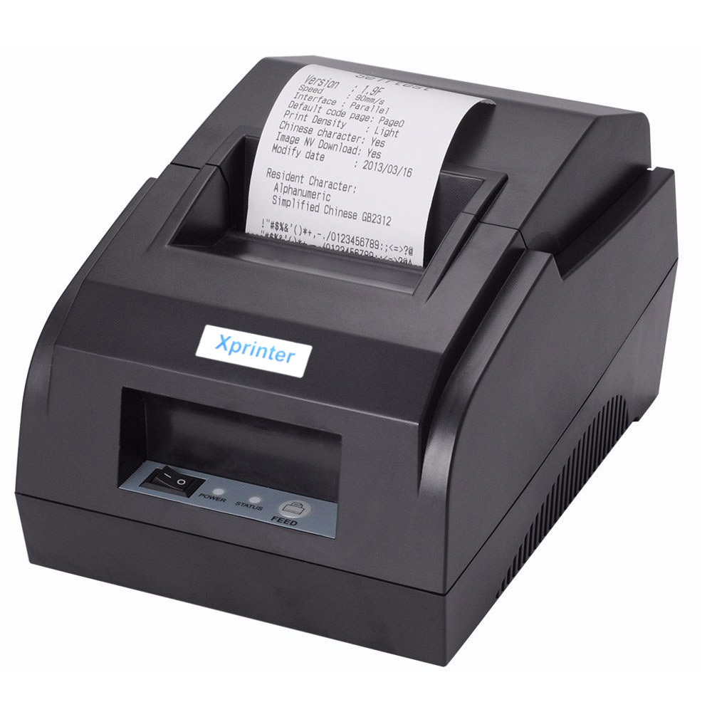 POS Thermal Printer Mini 58mm USB POS Receipt Printer Thermal Receipt Bill Ticket Printer For Resaurant Supermarket Store