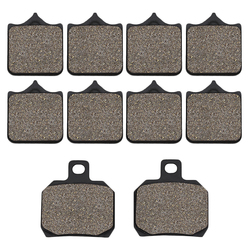 Cyleto Motorcycle Front and Rear Brake Pads for Benelli BJ600 BJ 600 BJ600GS BN600 BN600I BN 600 TNT600 TNT 600
