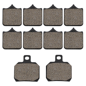 Cyleto Motorcycle Front and Rear Brake Pads for Benelli BJ600 BJ 600 BJ600GS BN600 BN600I BN 600 TNT600 TNT 600(China)