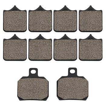цена на Cyleto Motorcycle Front and Rear Brake Pads for Benelli BJ600 BJ 600 BJ600GS BN600 BN600I BN 600 TNT600 TNT 600