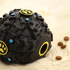 Image 3 - Youpin Pet Toy Relaxing Black Stimulating Grinding Teeth Leakage Food Vocal Ball  for Dog