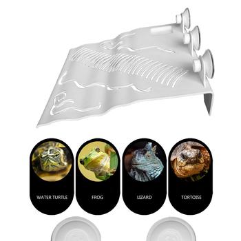 Bardzo duża platforma do suszenia żółwia platforma wspinaczkowa pływająca platforma Paludarium kształtowanie krajobrazu dom gadów zwierzęta domowe produkt tanie i dobre opinie CN (pochodzenie) FF00035 Z tworzywa sztucznego