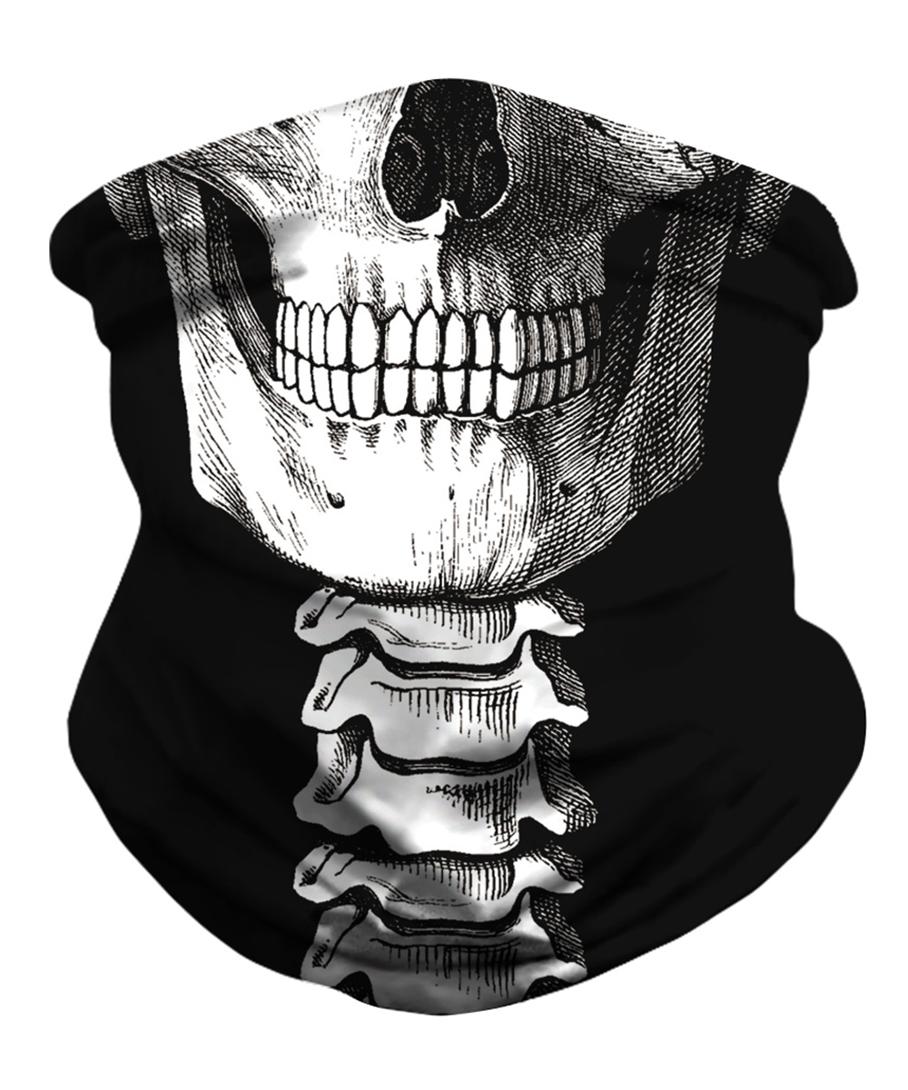 Skull Masks Seamless Magic Scarf Heaewear for Festival Outdoor Sports Fishing Bandanas Cycling Hiking Scarf Mask Neck Gaiter(China)