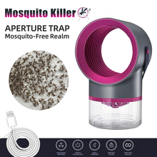 USB вентилятор лампа с насекомыми-вредителями ловушку свет репеллент электрический москитная убийца фотокатализа немой дом Сид мухобойка