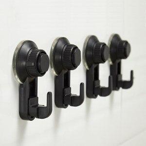 Image 1 - 2 szt. Uchwyt próżniowy łazienka ściana ciężki ładunek mocny wodoodporny ręcznik wielokrotnego użytku kuchnia wytrzymała przyssawka haki narzędzie do zawieszenia