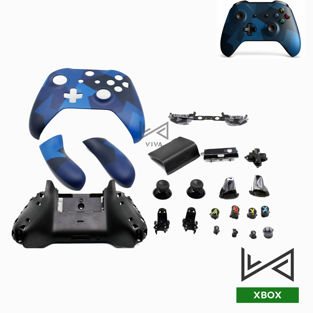 For Xbox One Slim Controller Housing  Shell  Kit For XBOX ONE X Cover Limited Edition With Buttons Thumbsticks  Bumper