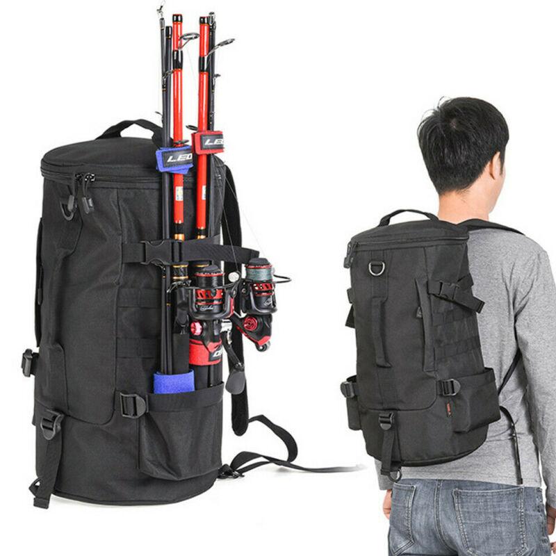 23L Multifunctional Outdoor Shoulder Waterproof Fishing Camping Bag Waterproof Fishing Tackle Backpack
