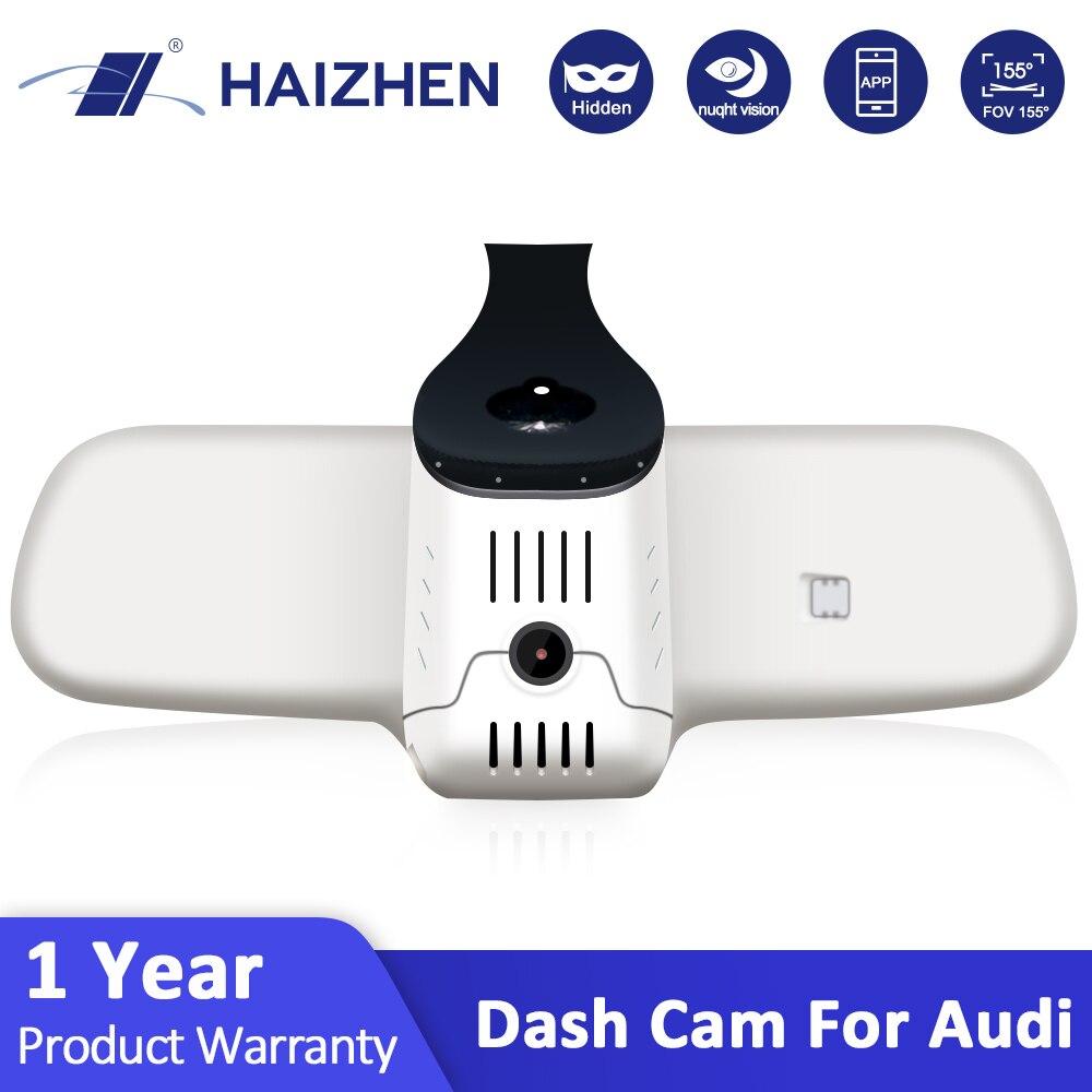 HAIZHEN Dash Cam Original FHD Car DVR Camera WiFi APP Control 6 Lens F1.4 Night Vision Hidden Dashcam for Audi Video Recorder|DVR/Dash Camera| |  - title=