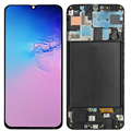 Original AMOLED A50 LCD For Samsung Galaxy A50 A505 LCD Display With Frame 6.4 Screen For Samsung A50 2019 A505F A505F/DS LCD