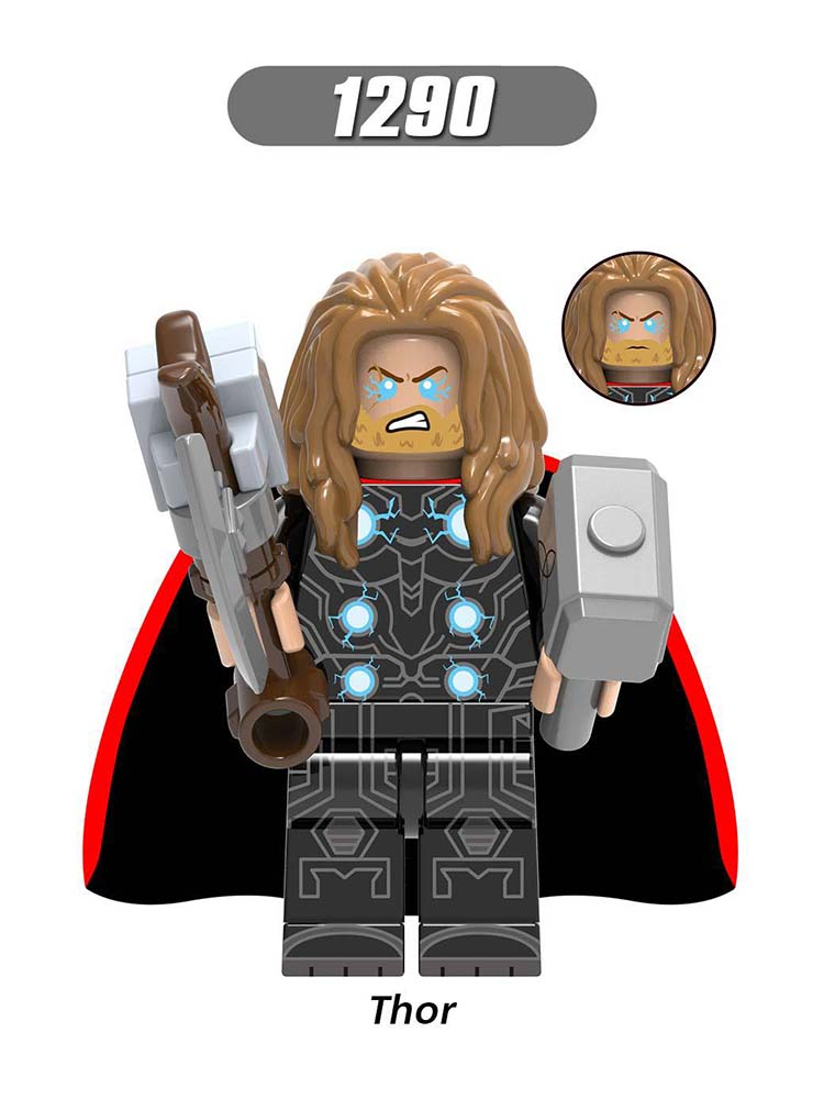 Single Sale Compatible LegoINGlys Super Heroes Avengers Endgame Ancient One Thor  Captain America Building Block Toys  Boys Gift