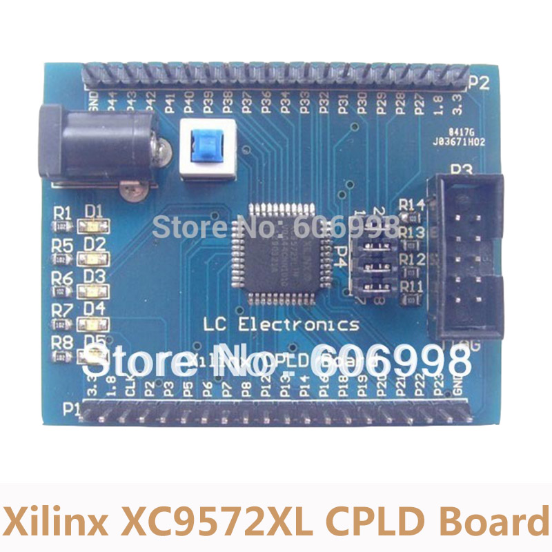 Xilinx XC9572XL CPLD Development Board Learning Board Experimental Plate