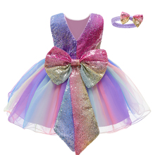 Neugeborenen Baby Mädchen Prinzessin Kleid Weihnachten Kostüm Infant Kleider Für Baby 1st Geburtstag Party Hochzeit Kleid 9 12 Monat Infantil