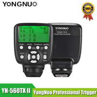 Yongnuo YN560 TX c ii controlador de flash sem fio e comandante para YN 560III YN 560TX yn560tx speedlite para câmeras canon dslr|yongnuo yn560-tx|wireless flash control|wireless flash -