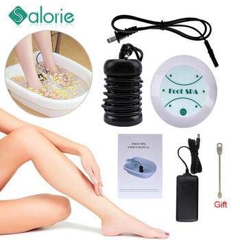 Dropshipping nowa Aqua maszyna detoksykacyjna Ion Cleanse Ionic Detox kąpiel stóp Aqua Cell urządzenie Spa masaż stóp Detox kąpiel stóp tanie i dobre opinie SALORIE CN (pochodzenie) Masaż i relaks Materiał kompozytowy Foot Bath 110-420v Footbath Massage detox foot spa machine