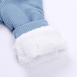Image 5 - חורף תינוק Romper יילוד ילד ילדה סרבל תינוקות תלבושות חם פעוט בגדי סרבל חמוד ארנב תלבושות עבור 0 18 חודשים