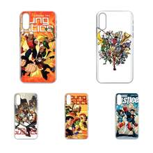 For LG G2 G3 G4 G5 G6 G7 K4 K7 K8 K10 K12 K40 Mini Plus Stylus ThinQ 2016 2017 2018 Soft Bags Cases Cartoon Young Justice Poster(China)