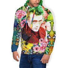 James Dean Hoodie Joker - Dean Hoodies Long Sleeve Winter Pullover Hoodie Male XL White Streetwear Hoodies электрогитара dean deceiver x tbl