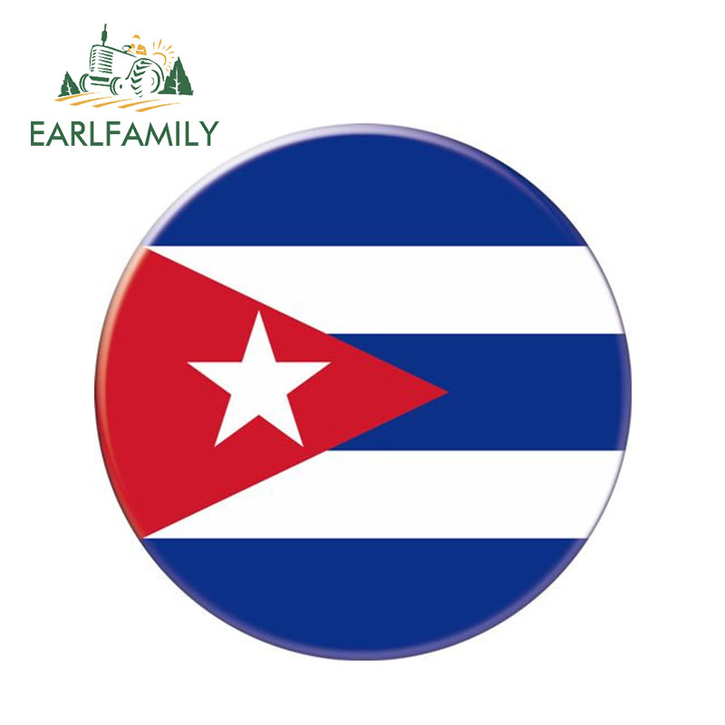 Cuba Flag Sticker Cars Trucks Windows Laptop Decal