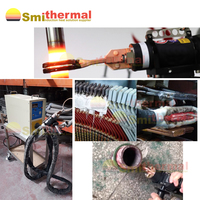 3 phase 380V 25KVA IGBT type Induction Heating Machine with mobile heating head coil