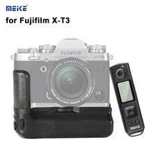 Meike X-T3 Pro батарея ручка с 2,4G беспроводной пульт дистанционного управления для Fujifilm Fuji XT3 камера держатель батареи MK-XT3 pro ручка