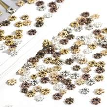 200 pçs 4/5/6mm antigo ouro tibetano prata contas de metal redonda solta espaçador contas ajuste encantos pulseira diy jóias fazendo suprimentos