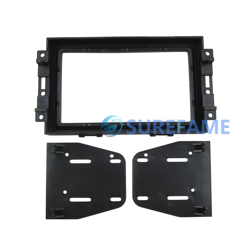 2005 2006 2007 Chyrsler 300 Aspen PT Cruiser Double Din Dash Kit Radio Install