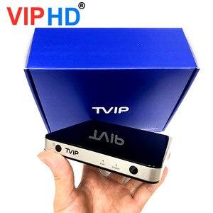 Image 2 - ТВ приставка vip605, ТВ приставка Linux, 4K, ОТТ, 8 ГБ, медиаплеер Amlogic S905X, Tvip S Box V.605, Tvip 605, Smart Tv приставка, 2020