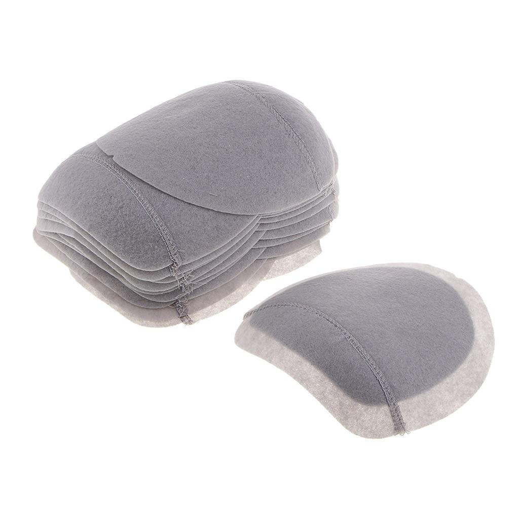 10 пар в комплекте; серый втачные на хлопковой подкладке плечевыми накладками набивочный материал для Одежда Аксессуары для шитья