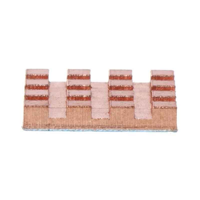 النحاس الحرارة بالوعة الخلفي غرفة تبريد ل VGA GPU DDR DDR2 DDR3 ذاكرة عشوائية IC شرائح MOS التبريد 13x13x2 مللي متر