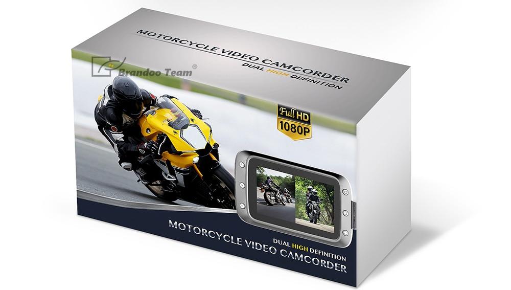 Motorcycle Video Recorder Motorbike dash cam 3 4