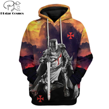 PLstar Cosmos Printed Knights Templar 3d hoodies/Sweatshirt Winter autumn funny Harajuku Long sleeve armor cosplay streetwear-47