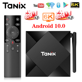 цена на Tanix TX6S TV BOX Android 10 Smart tv box 4GB RAM 32GB 64GB ROM TVBox Allwinner H616 Quad Core Box H.265 4K Media player 2GB 8GB