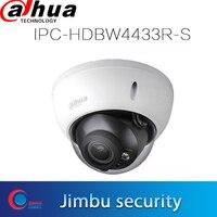 dahua poe H.265 IPC camera 4MP IPC HDBW4433R S replace IPC HDBW4433R S Network IR30m H.265 Dome IP Camera Micro SD memory 128G