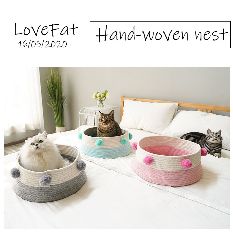 <font><b>Cat</b></font> <font><b>Bed</b></font> <font><b>House</b></font> Pet <font><b>Bed</b></font> can Washable For Small Dogs Nest Warm Sleeping <font><b>Bed</b></font> Foldable <font><b>Cat</b></font> <font><b>Bed</b></font> Cute for Indoor <font><b>Cats</b></font> Dog <font><b>House</b></font> image