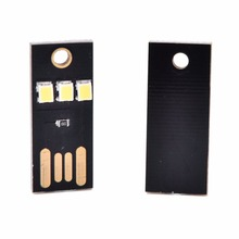 Теплый/белый мини USB светодиодный светильник ультра низкая мощность 2835 чипов карманная карта лампа Портативный Ночной лагерь