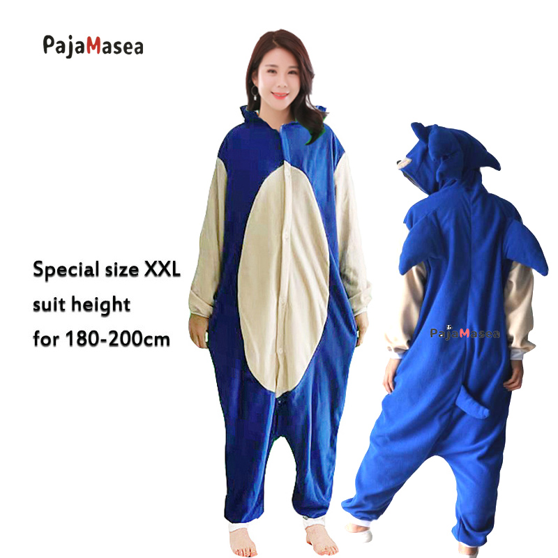 XXL New Men PAJAMASEA Hedgehog Pijama Cartoon Onesies For Adults Women Cosplay Costume Animal Pyjamas  Jumpsuit Raccoon Kigurumi