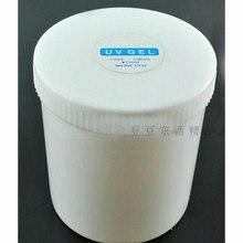 1 KG wysokiej jakości lakier do paznokci przezroczysty żel budujący utwardzany promieniami UV żelowy lakier do paznokci
