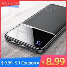 KUULAA-Przenośna ładowarka Powerbank 10000 mAh do Xiaomi Mi 9 8, iPhone, bateria zewnętrzna, ładowanie przenośne