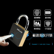 Fipilock Smart Lock Key Fingerprint Lock IP65 Waterproof Anti-theft Security Device Padlock Door Luggage Lock