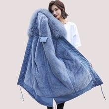 Winter Parkas 2019 winter -30 degree women's Parkas coats hooded fur collar thick section warm winter Jackets snow coat jacket цены