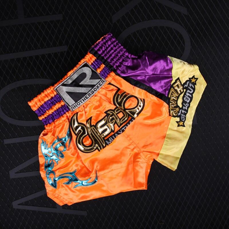 Женские шорты для ММА тайского бокса кикбоксинга боевых искусств